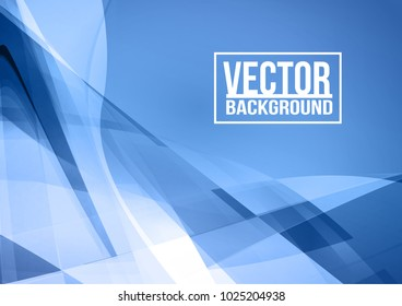 Abstract digital polygonal geometric modern blue color backgrounds. Cover design template layout for corporate business book, booklet, brochure, poster. Vector