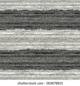 Abstract distressed striped motif. Seamless pattern.