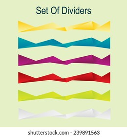 Abstract dividers