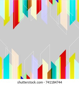 Abstract document business background vector.