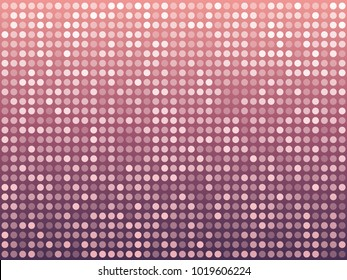 Abstract dot background. Led light digital texture. Vector illustration