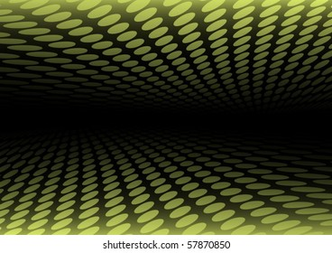 Abstract  doted background tunnel illustration