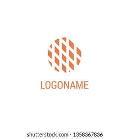 Abstract dots logo. SImple logo design