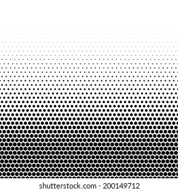 Abstract dotted cell background