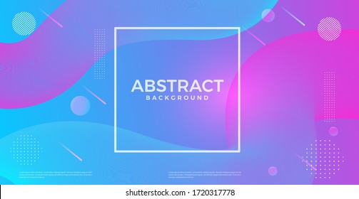 abstract dynamic 3d flow effect background. vector design template for banner, advertising, poster, cover.
