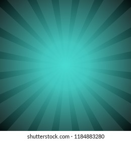 Abstract dynamic starburst background - gradient vector design with radial striped rays