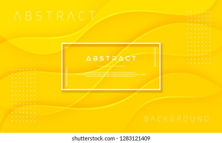 Abstract, Dynamic and Textured yellow background for posters, brochures, banners, web pages, covers, and other