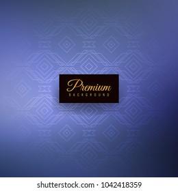 Abstract elegant seamless pattern premium background