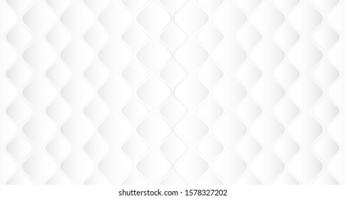 Abstract.  Embossed shape white background. light and shadow. copy space .Vector.