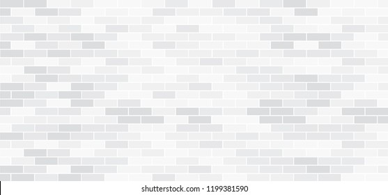 Abstract empty background brick  wall view Funny vector block stone icons or signs for texture banner or wallpaper Urban home place or office interiors and floor side Color stripes white gray or black