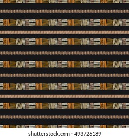 Abstract ethnic seamless pattern