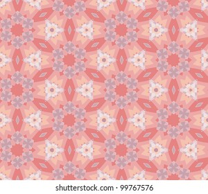 abstract ethnic vector seamless background. Colorful vector illustration