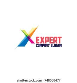 Abstract Expert Logo Icon