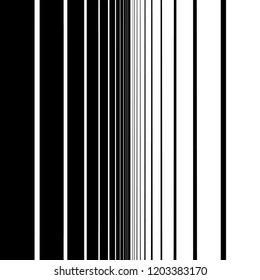 Abstract fade from black to white with vertical bars