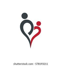 Abstract Family Design Logo