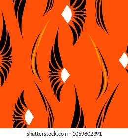 Abstract fashion design print pattern