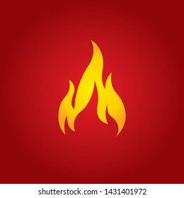 Abstract Fire Design Vector NEW