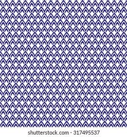 Abstract fish skin seamless pattern, decor element, vector illustration
