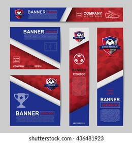 Abstract flag colour banner for Website Ads.Ratio,728x90,300x250,200x200,120x600,160x600
