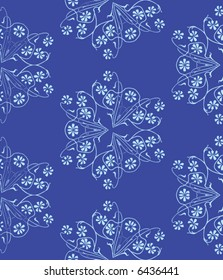 Abstract floral ornament ( seamless texture )