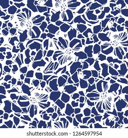 Abstract flower pattern.
