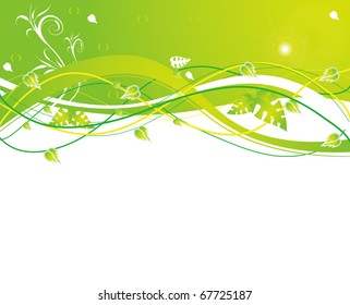 abstract flower spring illustration vector
