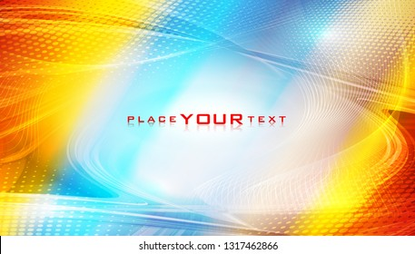 Abstract fluid color background. Colorful cover layout for corporate flyer, business book, booklet, brochure, poster, banner, leaflet. Vector