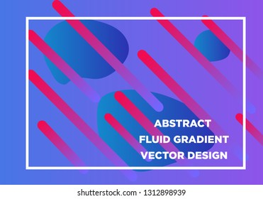 Abstract Fluid creative templates, cards, color covers set. Geometric design, liquids, shapes. Trendy vector collection. - Vector