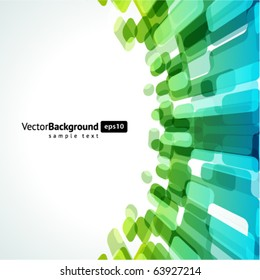 Abstract fly technology lines vector background. Eps 10