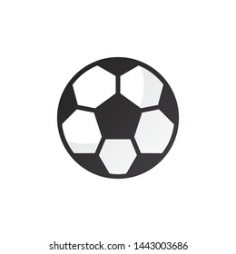 Abstract Football logo template, vector sport icon design
