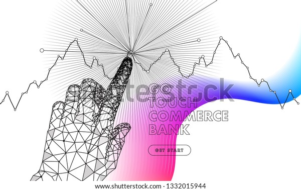 Abstract Future Realistics Shape Objects Innovations Stock