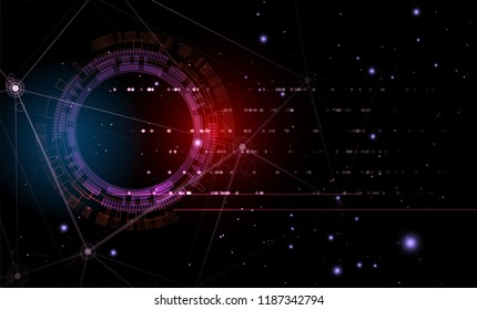Abstract futuristic background. Graphic concept for business solution ideas.