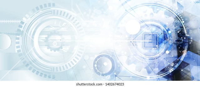 abstract futuristic data technology business background