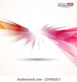 Abstract futuristic wavy background