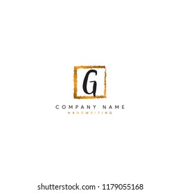 Abstract G Logo or G initial logo or G Signature logo