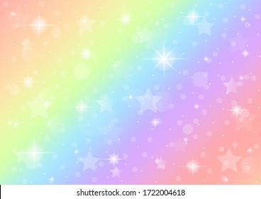 abstract galaxy fantasy unicorn pastel 260nw 1722004618