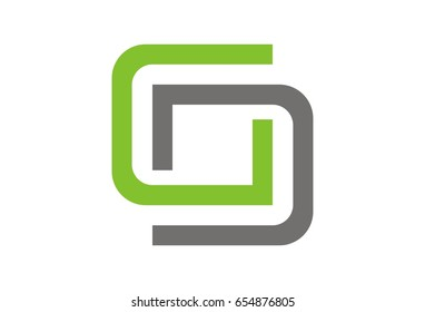 Abstract GD logo