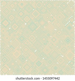 Abstract Generative Art color distributed squares polygons background illustration