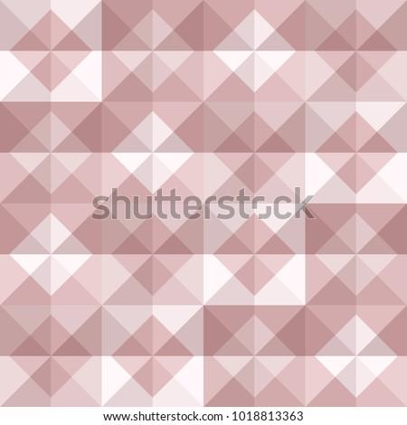 Abstract Geomeric Background Blush Pink Colors Stock Vektorgrafik