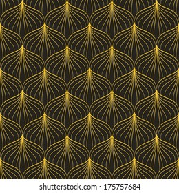 Art Deco Pattern Images, Stock Photos & Vectors | Shutterstock