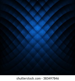Abstract geometric background. Blue colour. Vector Illustration