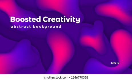 Abstract geometric background, colorful futuristic vector graphic