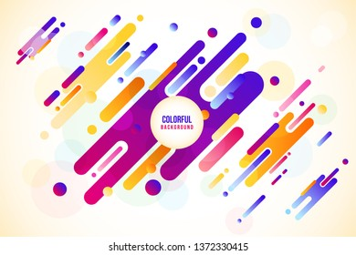 Abstract geometric background. Colorful image.