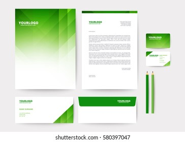 Abstract geometric background for Corporate Identity Template Poster Brochure Flyer design Layout vector template