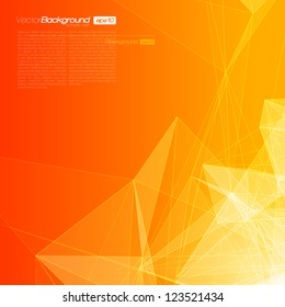 Abstract Geometric Background for Design | EPS10 Illustration