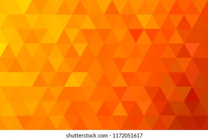 Abstract geometric background.  Gold autumn polygonal vector