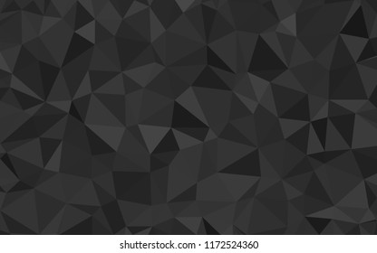 Abstract geometric background. Gray polygonal vector