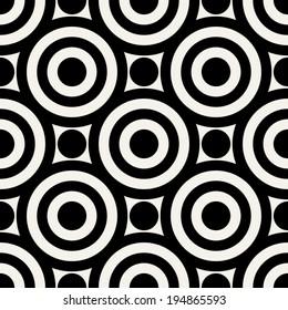 Abstract geometric background, modern seamless pattern