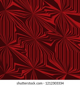 Abstract geometric background in red and maroon color