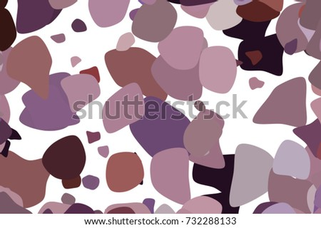 Abstract Geometric Background Shape Random Rounded Stock